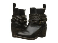 Bed Stu Lorn Black Handwash Leather Women's Pull On Boots