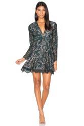 Style Stalker Davis Long Sleeve Dress Green