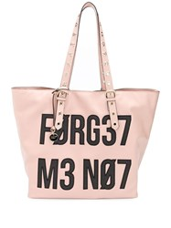 Red Valentino Forget Get Me Not Tote Bag Pink