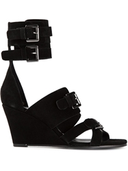 Surface To Air 'Duarte' Sandals Black