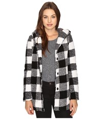 Billabong Into The Forest Coat Black White Women's Coat