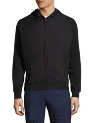 North Sails Solid Fleece Hoodie Black