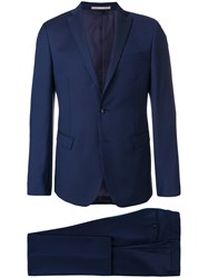 Paoloni Two Piece Suit Blue