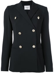 Dondup Double Breasted Blazer Black