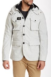 Mastrum Military Waterproof Blazer And Quilted Liner White