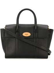 Mulberry Removable Strap Medium Tote Black