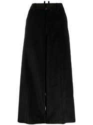 Dsquared2 Cropped Corduroy Trousers Black