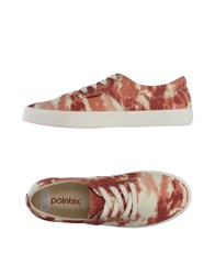 Pointer Sneakers Brick Red