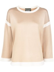 Boutique Moschino Contrast Details Jumper 60