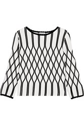 Tomas Maier A Bomb Stretch Knit Top White