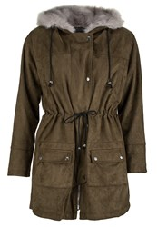Religion Deserted Parka Khaki Brown