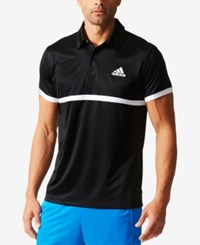 Adidas Men's Climalite Tennis Polo Black