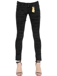 Robin's Jean Skinny Studded Destroyed Denim Jeans