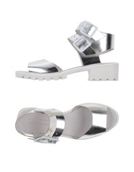 Miista Footwear Sandals Women Silver