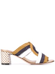 Bally Woven Sandals Neutrals