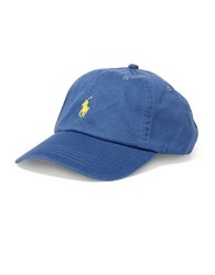 Polo Ralph Lauren Classic Chino Cotton Sports Cap Derby Blue