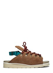 Kolor Chunky Suede Hiking Sandals Brown