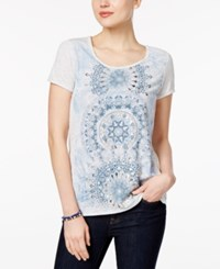 Styleandco. Style Co. Petite Graphic T Shirt Only At Macy's Grey