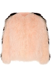 Fendi Two Tone Shearling Jacket
