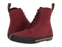 Dr. Martens Winsted Cherry Red Canvas Men's Boots