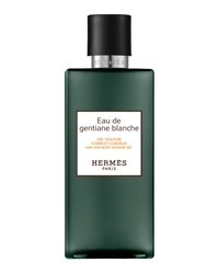 Hermes Eau De Gentiane Blanche Hair And Body Shower Gel 6.7 Oz.