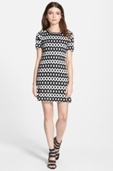 J.O.A. Print Knit Dress Multi