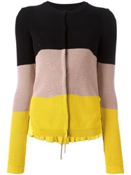 N 21 No21 Colour Block Cardigan Yellow