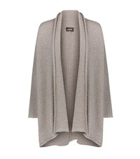 Eskandar Honeycomb Textured Cardigan Female Neutral