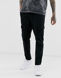 Another Influence Utility Cargo Trousers Black