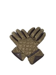 Bogner Agimo Quilted Technical Gloves Dark Green