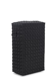 Noka'oi Brick Black Quilted Pouch