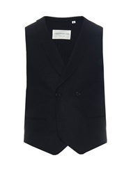 Tomorrowland Shawl Collar Wool And Cashmere Blend Waistcoat