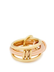 Spinelli Kilcollin Gemini 18Kt Gold And Rose Gold Ring
