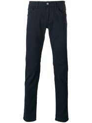 Dolce And Gabbana Gold 14 Slim Fit Trousers Blue