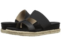 Adrienne Vittadini Codie Black Women's Sandals