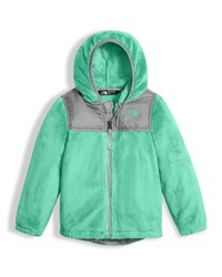 The North Face Girls' Oso Fleece Zip Hoodie Green Size 2 4T
