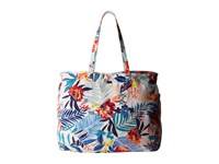 Roxy It Favorite Canary Islands Floral A Combo Sand Piper Tote Handbags Multi