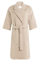 By Malene Birger Asana Coat With Wool And Alpaca Beige