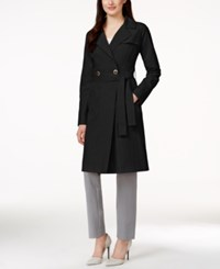Ivanka Trump Two Button Wrap Trench Coat