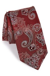 Men's John W. Nordstrom 'Twisted Paisley' Silk Tie