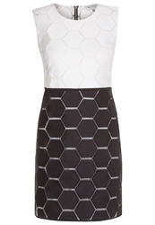 Milly Eloise Cocktail Dress Party Dress Black White