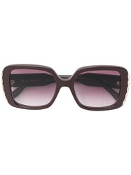 Elie Saab Oversized Sunglasses Pink And Purple