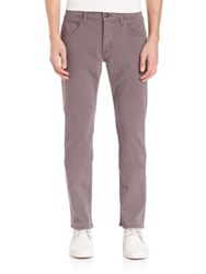 Hudson Byron Straight Trousers Bishop Grey