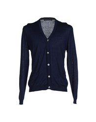 Private Lives Knitwear Cardigans Men Dark Blue