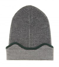 M. Patmos Sleep Wool Hat Grey
