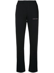 Chiara Ferragni Straight Leg Sweatpants Black