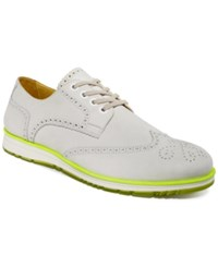 Kenneth Cole Reaction Home Slice Oxfords Men's Shoes White