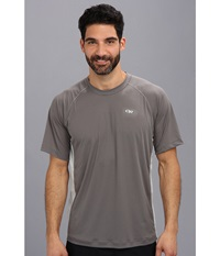 Outdoor Research Echo Duo Tee Pewter Alloy Men's T Shirt Gray