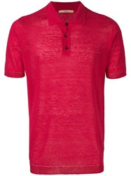 Nuur Classic Polo Shirt Red