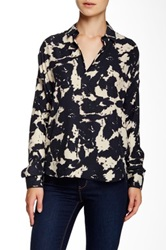 Brochu Walker Fox Silk Blouse Black